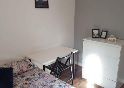 Habitación con cama doble en Brick Lane